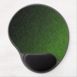 Hunter Green Shimmer Design Gel Mouse Pad