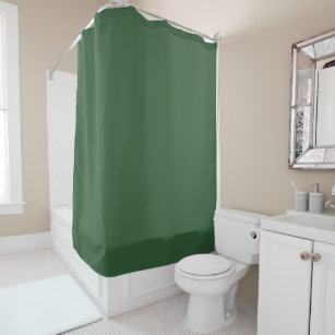 Hunter Green Shower Curtain