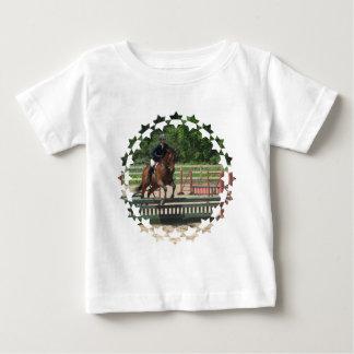 Hunter Horse Jumping Baby T-Shirt