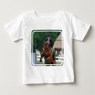 Hunter Horse Show Baby T-Shirt