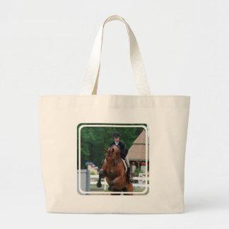 Hunter Horse Show Canvas Bag