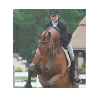 Hunter Horse Show Notepad