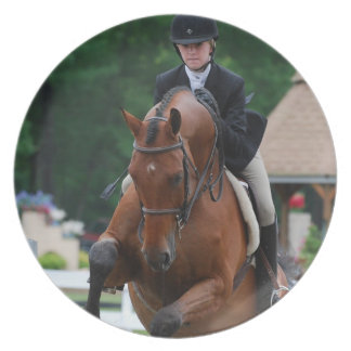 Hunter Horse Show Plate