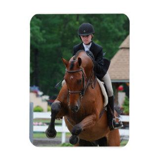 Hunter Horse Show Premium Magnet