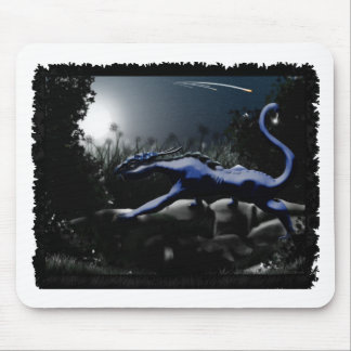 Hunter in the Night Mouse Pad