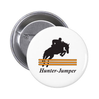 HUNTER JUMPER 2 INCH ROUND BUTTON