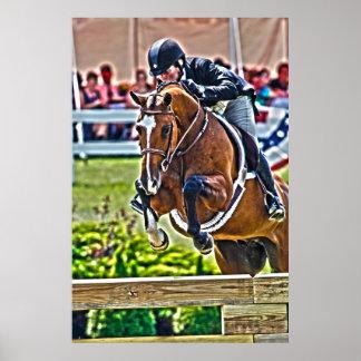 Hunter/Jumper-Equestrian Art Poster