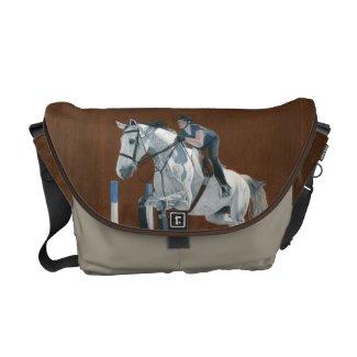 Hunter/Jumper Equestrian Horse Rickshaw Messenger