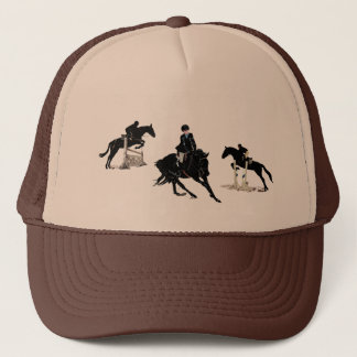 Hunter Jumper Equestrian Horse Trucker Hat