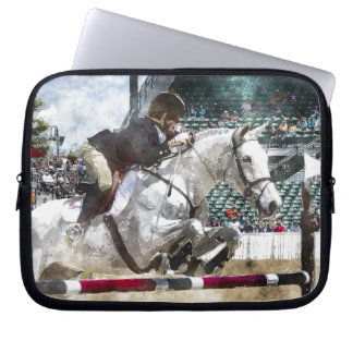 Hunter Jumper Equestrian Laptop Sleeve