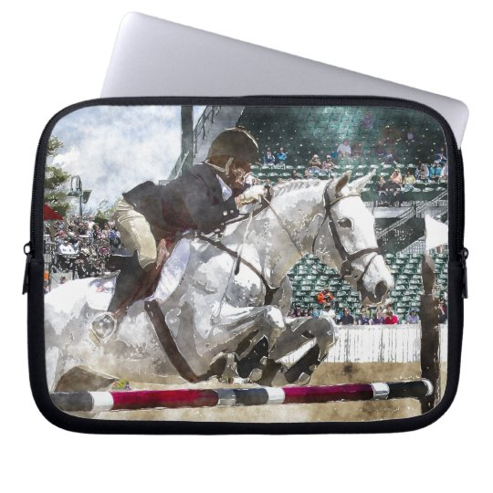 Hunter Jumper Equestrian Laptop Sleeve