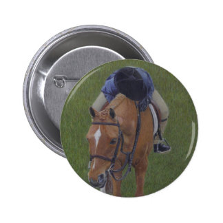 Hunter Jumper Equestrian Rider and Pony Buttons
