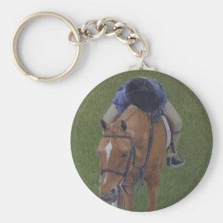 Hunter Jumper Equestrian Rider and Pony Keychains