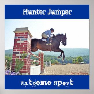 Hunter Jumper, Extreme Sport Poster