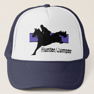 Hunter/Jumper Hat (Blue Background)