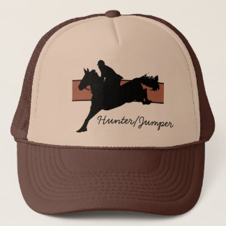 Hunter/Jumper Hat (Red Background)