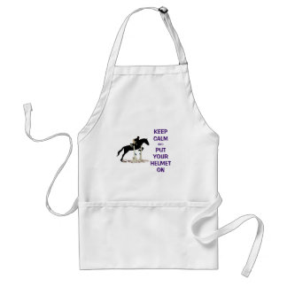 Hunter Jumper Horse Adult Apron
