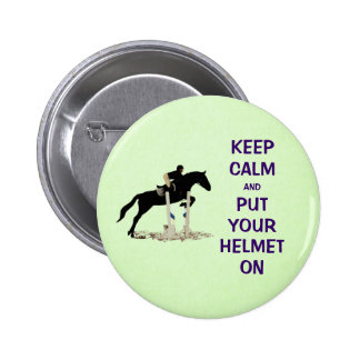 Hunter Jumper Horse Pinback Buttons
