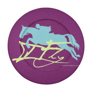 Hunter Jumper Horse Pack Of Small Button Covers