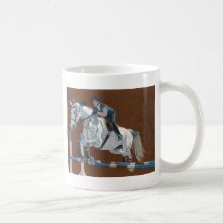 Hunter/Jumper Horse Coffee Mug