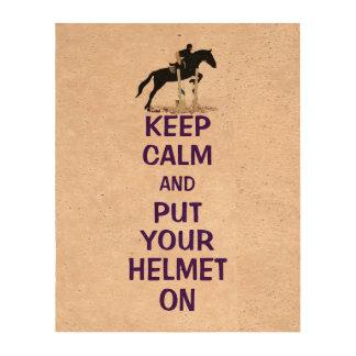Hunter Jumper Horse Cork Paper Print