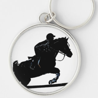 Hunter Jumper Horse Keychain