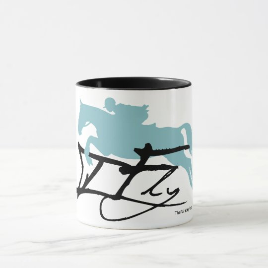 Hunter Jumper Horse Mug