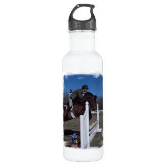 Hunter Jumper Horse 24oz Water Bottle