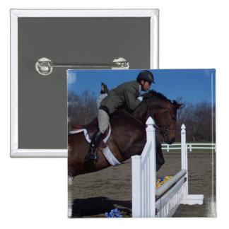 Hunter Jumper Horse Pin