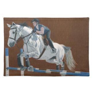 Hunter Jumper Horse Placemat