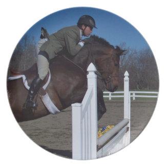 Hunter Jumper Horse Plate