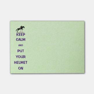 Hunter Jumper Horse Post-it® Notes