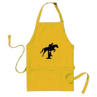 Hunter Jumper Horse & Rider Aprons