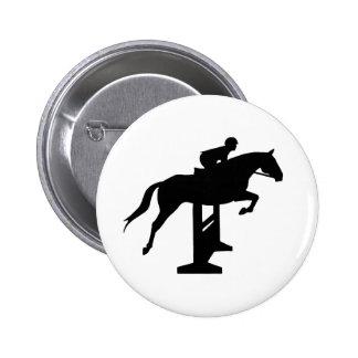Hunter Jumper Horse Rider Pin
