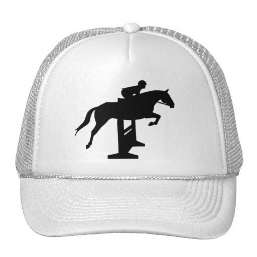 Hunter Jumper Horse & Rider Mesh Hat