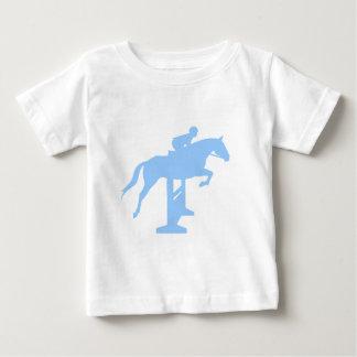 Hunter Jumper Horse & Rider (light blue) Baby T-Shirt