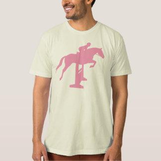 Hunter Jumper Horse & Rider (pink) T-Shirt