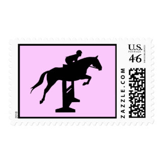 Hunter Jumper Horse & Rider Stamps
