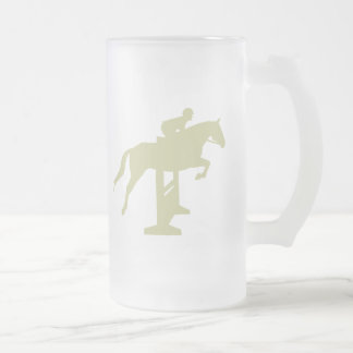 Hunter Jumper Horse & Rider (sage green) Gifts Mug