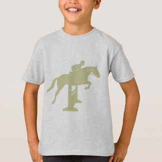 Hunter Jumper Horse & Rider (sage green) Gifts T-Shirt