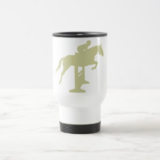 Hunter Jumper Horse & Rider (sage green) Gifts Travel Mug