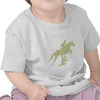 Hunter Jumper Horse & Rider (sage green) Gifts T-shirt