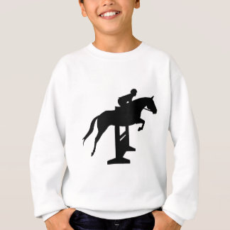 Hunter Jumper Horse & Rider Sweatshirt