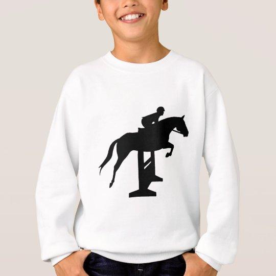 Hunter Jumper Horse & Rider Sweatshirt
