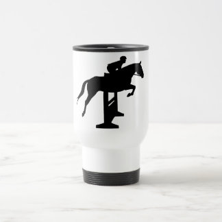 Hunter Jumper Horse & Rider Travel Mug