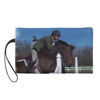 Hunter Jumper Horse Wristlet