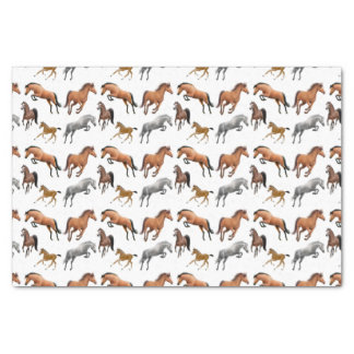Hunter Jumper Horses Tissue Paper
