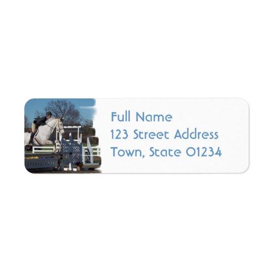 Hunter Jumper  Mailing Label