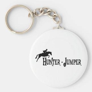 Hunter Jumper (pirate style) Keychain