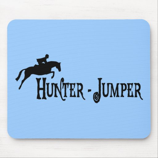 Hunter Jumper (pirate style) Mouse Pads